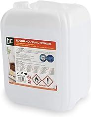 Höfer Chemie 1 x 10 L Bioethanol 96,6% Premium - TÜV SÜD zertifizierte QUALITÄT - für Ethanol Kamin, Ethanol Feuerstelle, Et