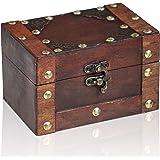Brynnberg Scrigno del Tesoro Vintage 14x9,5x8,5cm - Scatola Legno