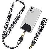 takyu Handykette, Universal Schlüsselband Halsband & Schlaufe zum Umhängen Kompatibel mit iPhone/Samsung/Huawei/Xiaomi (1 Hal