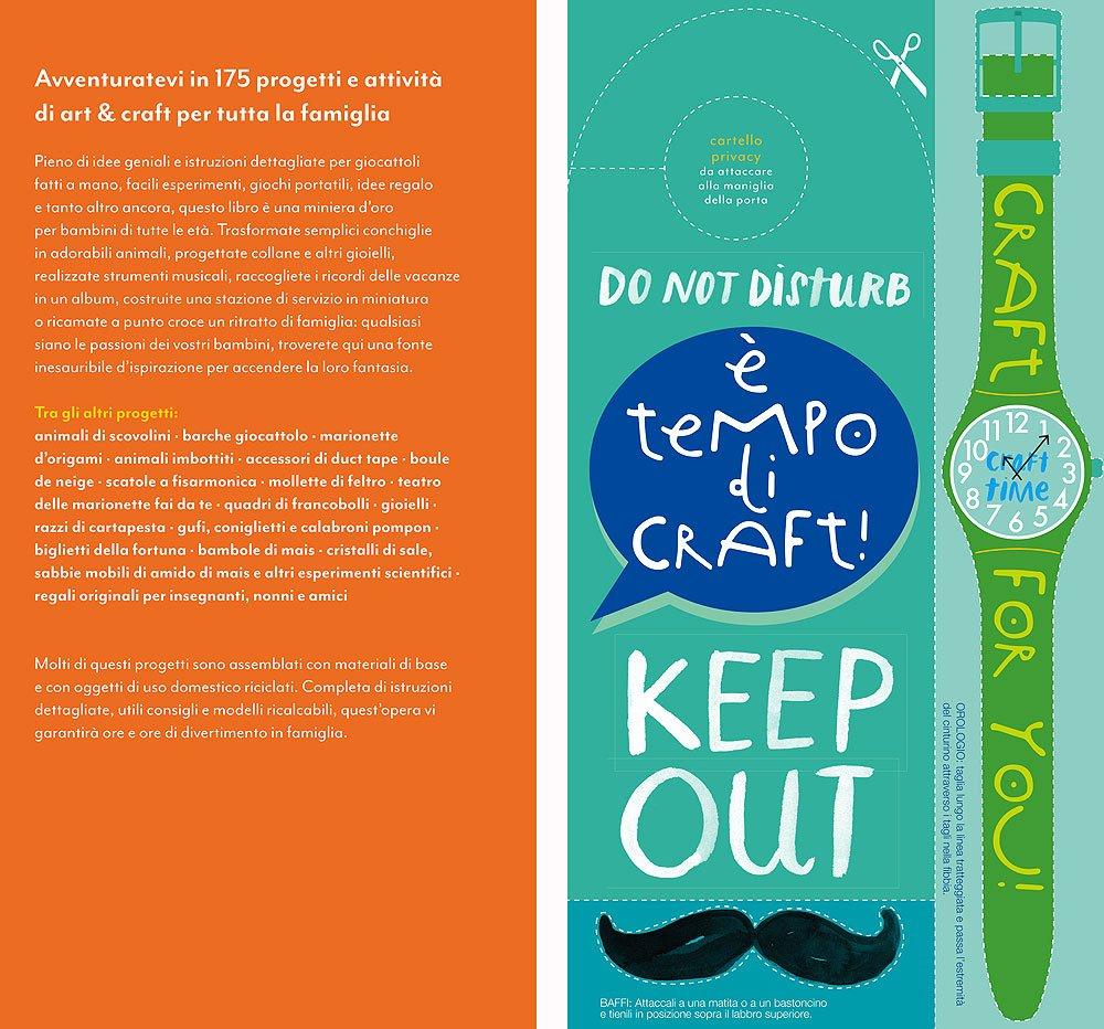 71XXannBc L - Art & craft per i tuoi bambini. 175 idee da creare, disegnare e costruire