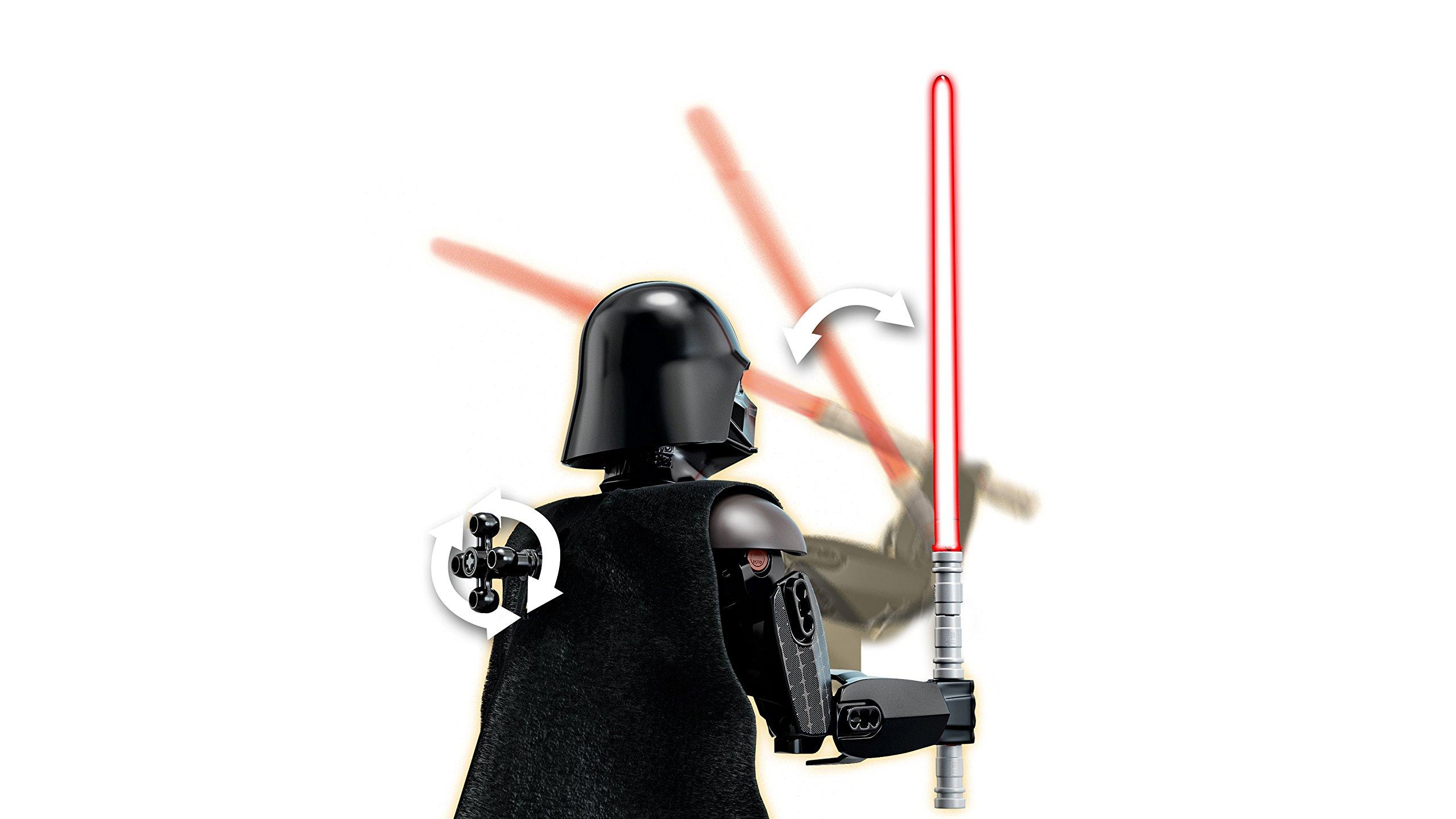 LEGO-Star Wars con structionDarth Vader, Multicolore, 75534 5 spesavip