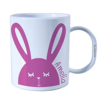 Personalised easter gift bunny plastic unbreakable kids cup personalised easter gift bunny plastic unbreakable kids cup toddler cup for boys and girls pink amazon kitchen home negle Gallery