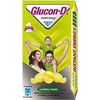 Glucon D Glucose Based Beverage Mix - Nimbu Pani flavoured, 1Kg
