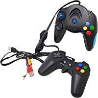 JoyBox Video Game 98000 in 1 Built-in Video Game Portable with USB Port 8 Bit TV Console for Kids 2 Players Video Game