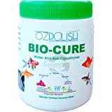 OZpolish Bio-Cure by Aquatic Habitat | Aquarium Probiotic and Beneficial Bacteria | Fish Tank Cleaner, Reduce Ammonia(Dry; 10