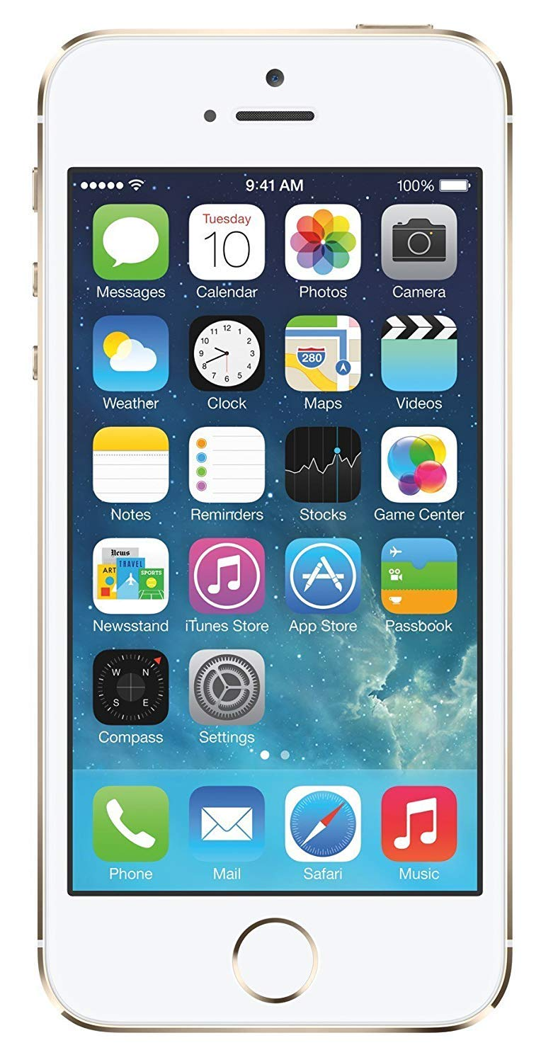 - 71XYvCxt7bL - UKiPhone 5S 16GB Gold by Original A P P L E (Without Touch ID)