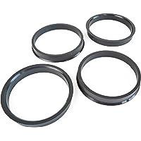 4 pezzi anelli di centraggio in plastica 73.1mm su 66.1mm Viola