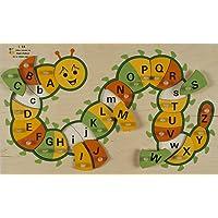 BSM - Puzzle Encastrement Educatif Alphabet - La Chenille - E72515640