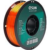 eSUN PETG Gloeidraad 1.75mm, PETG 3D Printer Gloeidraad, Dimensionale Nauwkeurigheid +/- 0.05mm, 1KG (2.2 LBS) Spoel 3D Print