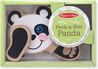 Peek-A-Boo Panda: Classic Toys - First Play Wooden Toys
