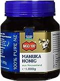 Manuka Health - Manuka Honig MGO 100 + 1000g - 100% Pur aus Neuseeland mit zertifiziertem Methylglyoxal Gehalt