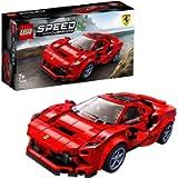 LEGO Speed Champions Ferrari F8 Tributo, Giocattolo Ispirato alle Corse, con Minifigura del Pilota, Set da Costruzione…