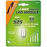 LiteXpress LXB525 2Mode LED Upgrade Module 525 of 55 lumen voor 3-6 C/D-Cell Maglite zaklampen
