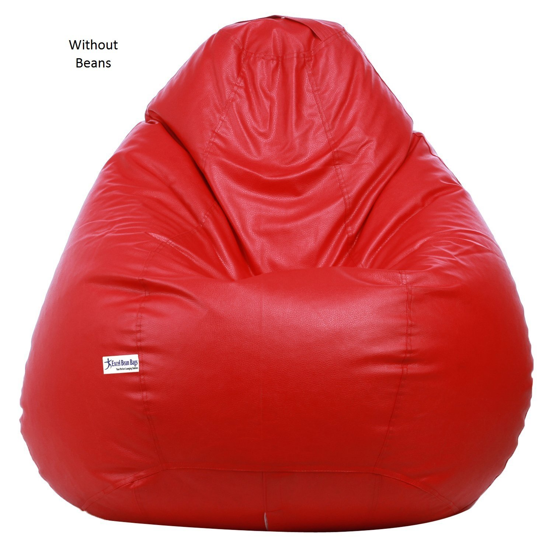 Sattva XXXL Bean Bag Red Amazonin Home Kitchen