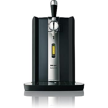 Philips HD3620/25 PerfectDraft Sistema Domestico di Erogazione della Birra, 70 W, 6 l, Display LCD, Nero, Cromo