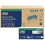 TORK 530177 Chiffon de nettoyage - Ultra Résistant Plié W4, 1 paquet de 60 chiffons