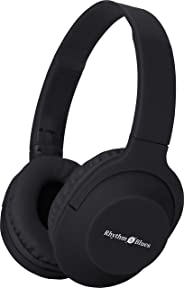 Rhythm&Blues A300 On-Ear Wired Headphones with mic (Black)
