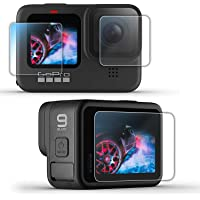 Action Pro [9H Hardness][HD Clear][Anti-Scratch][High Definition] Front & Back Screen Protector Compatible with GoPro…