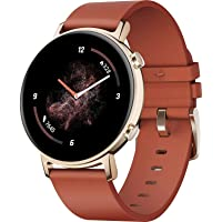 HUAWEI Watch GT 2 Smartwatch (42 mm Full-Color-AMOLED Touchscreen, SpO2-Monitoring, Herzfrequenzmessung, Musik…