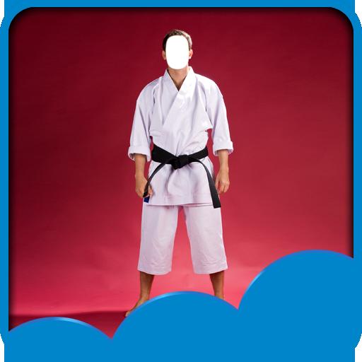 Kimono Foto Montage (Ziel-gürtel)
