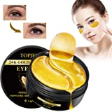 Maschera Per Gli Occhi, Eye Patch, Maschera d'occhio del collagene, 24K Gold Eye Patch, Idratante, Anti-rughe ed anti-età, Ri
