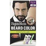 Bigen Men's Beard Colour, B101 Natural Black, No Ammonia