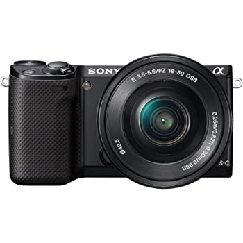 Sony Alpha NEX-5T 16.1MP Digital SLR Camera (Black) with 16-50mm Lens (NEX-5TL)