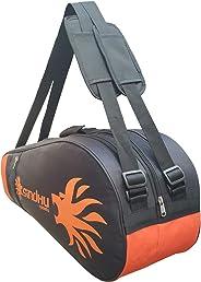 Sindhu Sports Badminton Kit Bag, (Pro-1002, Cover Orange-Black)