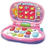 VTech-Mis primeras Teclas Ordenador infantil con tres modos de juegos que enseña animales, colores, formas y notas musicales,