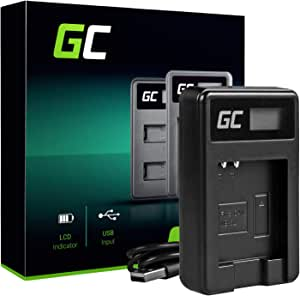 Green Cell Cb 2ly Cb 2lye Ladegerät Für Canon Nb 6lh Kamera