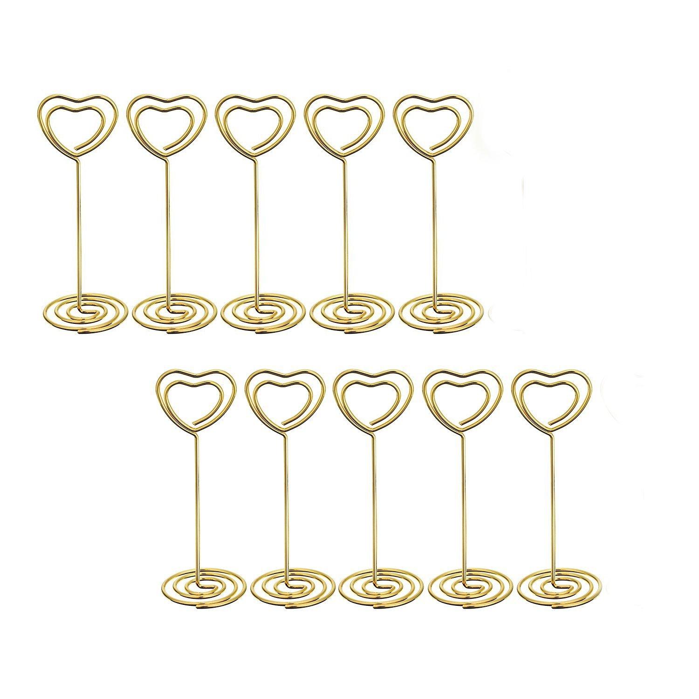 Segnaposto a forma di cuore del supporto per festa di nozze meeting decorazione per festa decoration