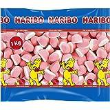Haribo Besitos Nata - Fresa (1 kg)