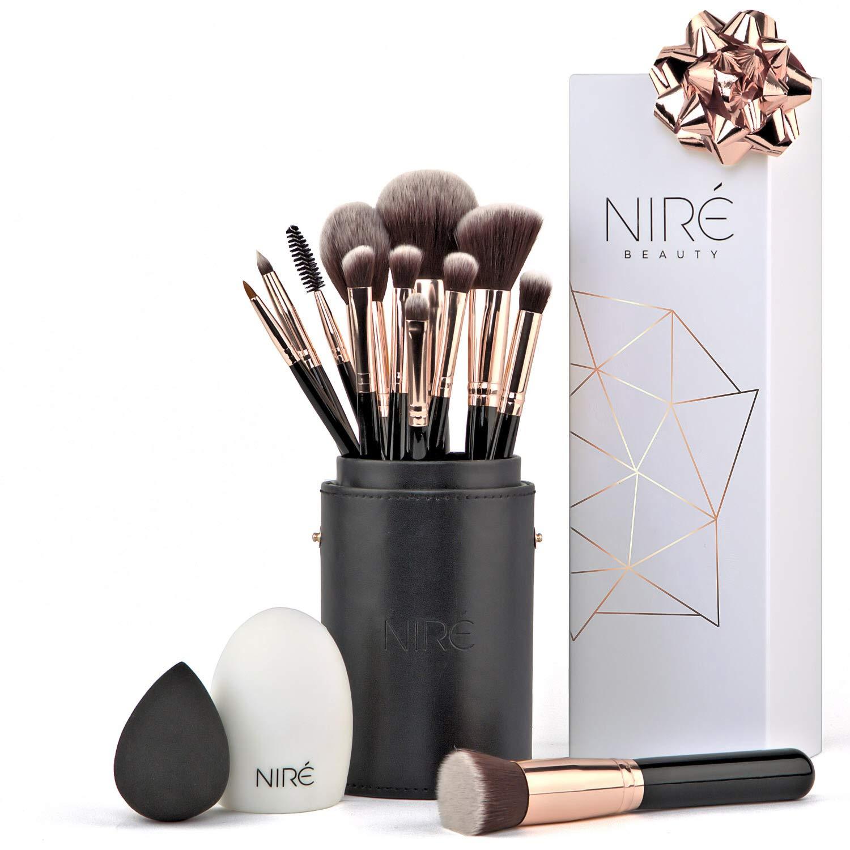 huge discount new authentic best loved Niré Artistry kit: pennelli make up, Niré Beauty Blender ...