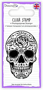 Dovecraft Photopolymer Clear Stamp - Skull