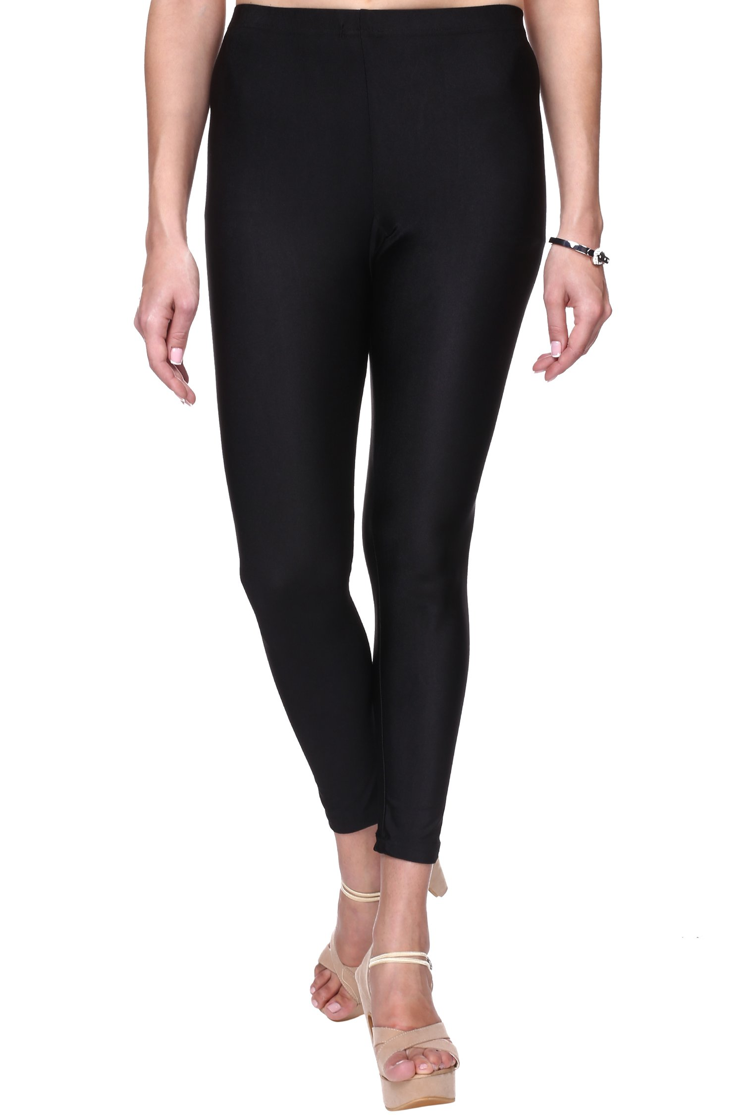 45d2fe64b9587c Trasa Shining Lycra Women's/Girls Ankle Length Shiny Leggings - Available  Sizes - M,L, XL, 2XL,3XL,4XL (Brand Outlet) - Gia Designer