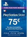 Carte Playstation Network 75  [Online Game Code]