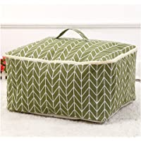 Fieans Sac de Stockage Vêtements Bacs de Rangement, literie, Couverture Organiseur Containers de Stockage-Vert