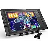 XP-PEN Artist 22E Pro HD IPS Grafikmonitor Drawing Tablet 8192 Druckstufen unterstützt 4k Monitore Windows 10/8/7 und Mac OS 10.8 (22E Pro, Schwarz)