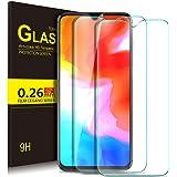 KuGi OnePlus 6T Protection Ecran,OnePlus 6T Ultra Résistant Film Protection écran Glass [Dureté 9H] Screen Protector pour OnePlus 6T[2 Pack]