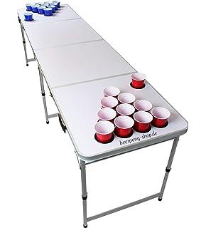 Beer Pong Tisch Bier Pong Tisch inkl. 6 Bälle Maße