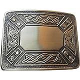 HOH Scottich Celtic Knot Design Kilt Belt Buckle
