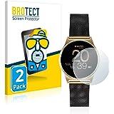 BROTECT 2X Entspiegelungs-Schutzfolie kompatibel mit Xlyne X-Watch Joli XW Pro Displayschutz-Folie Matt, Anti-Reflex…