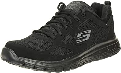 Skechers Burns Agoura Mens Synthetic Material Running Trainers