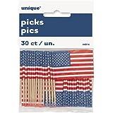 Unique Industries - Stuzzicadenti Con Bandiera Usa