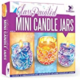 Toykraft : Glass Painted Mini Candle Jars | Art and Craft Activity Kit for 8 Year Olds | Kids Painting Kit | Glass Painting K