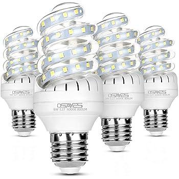 10 x E27 Lampe LED Birne Energiespar Lampe Glühbirne 700Lm 7 Watt Warmweiß