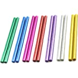 Xinlie Standaard lijmsticks gekleurde lijmsticks pigment bar hete lijm voor hete lijmpistolen Ø11 mm 14 stuks gekleurde lijms