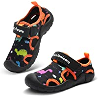 Sandals Boys Girls Closed Toe Kids Water Shoes Summer Sports Outdoor Sandal Comfort Shoes Toddler Lightweight