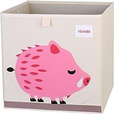 Cartoon Aufbewahrungswürfel Leinwand faltbare Spielzeug Aufbewahrungsbox für Kinder von ELLEMOI