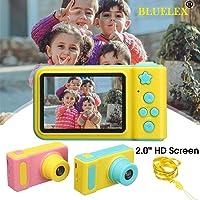 BLUELEX Mini Digital Children's Kids Camera 2 Inch IPS HD Screen 100 Degree Toy Photography Video Kids Camera for Kids Gift